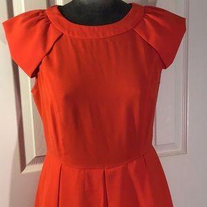 Esley bright orange dress. Size 8